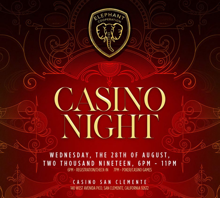 CasinoNight Header